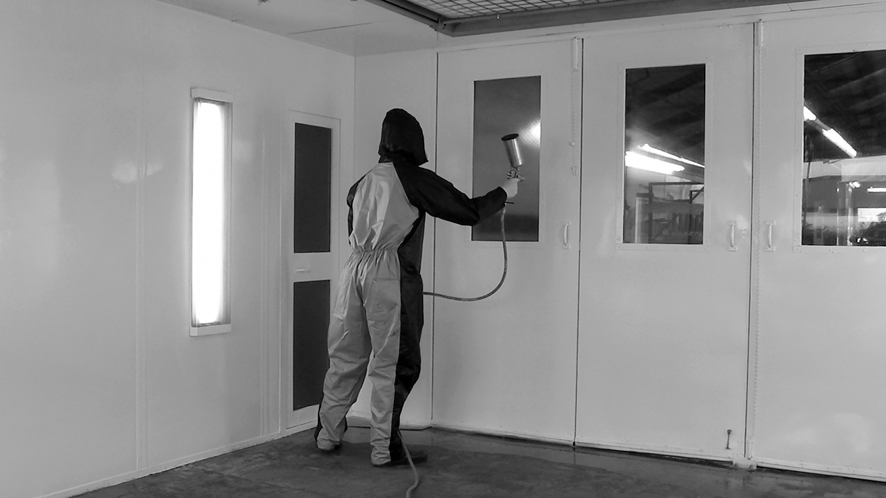 Spray-on booth coatings protect your shop's biggest investment.