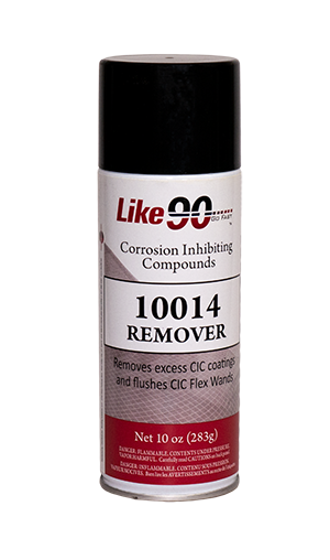 Like90 CIC Remover 10 ounce aerosol can.
