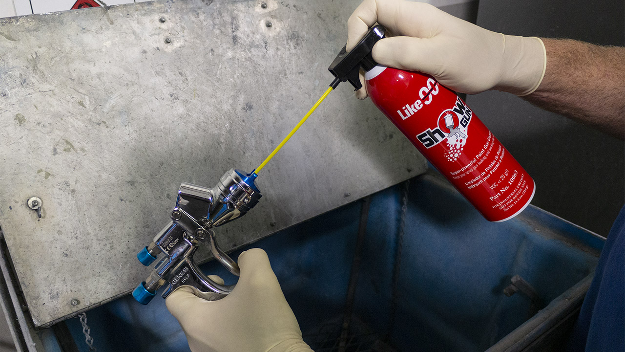 Like90 Show Gun super-high pressure paint gun cleaner with 2-way spray.
